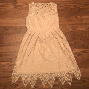 Love Fire Dress, Size XL